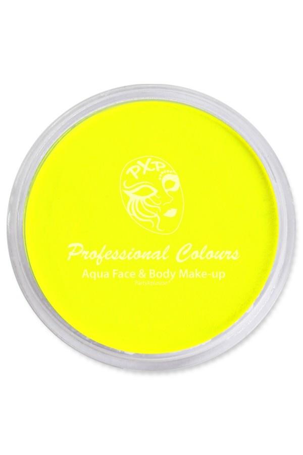 Aquaschmink Potje 10Gram | Neon UV Geel