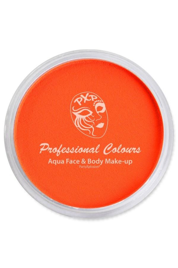 Aquaschmink Potje 30Gram | Neon UV Oranje