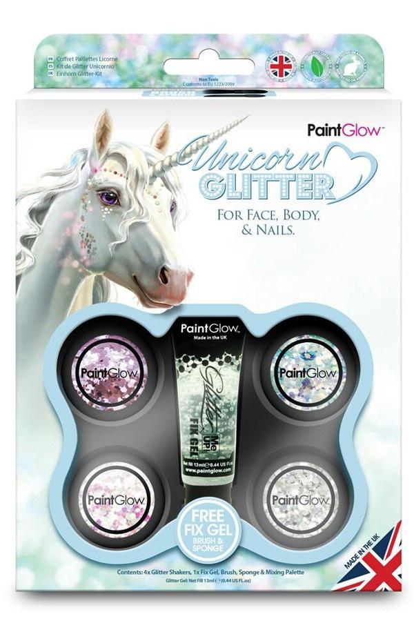 Funky Glitter Unicorn Schmink Box