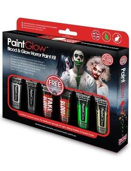 Halloween Horror Schminktubes Box