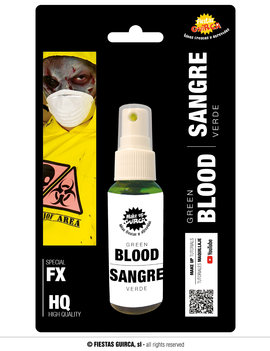 Zombiebloed Spray Groen | 60ml