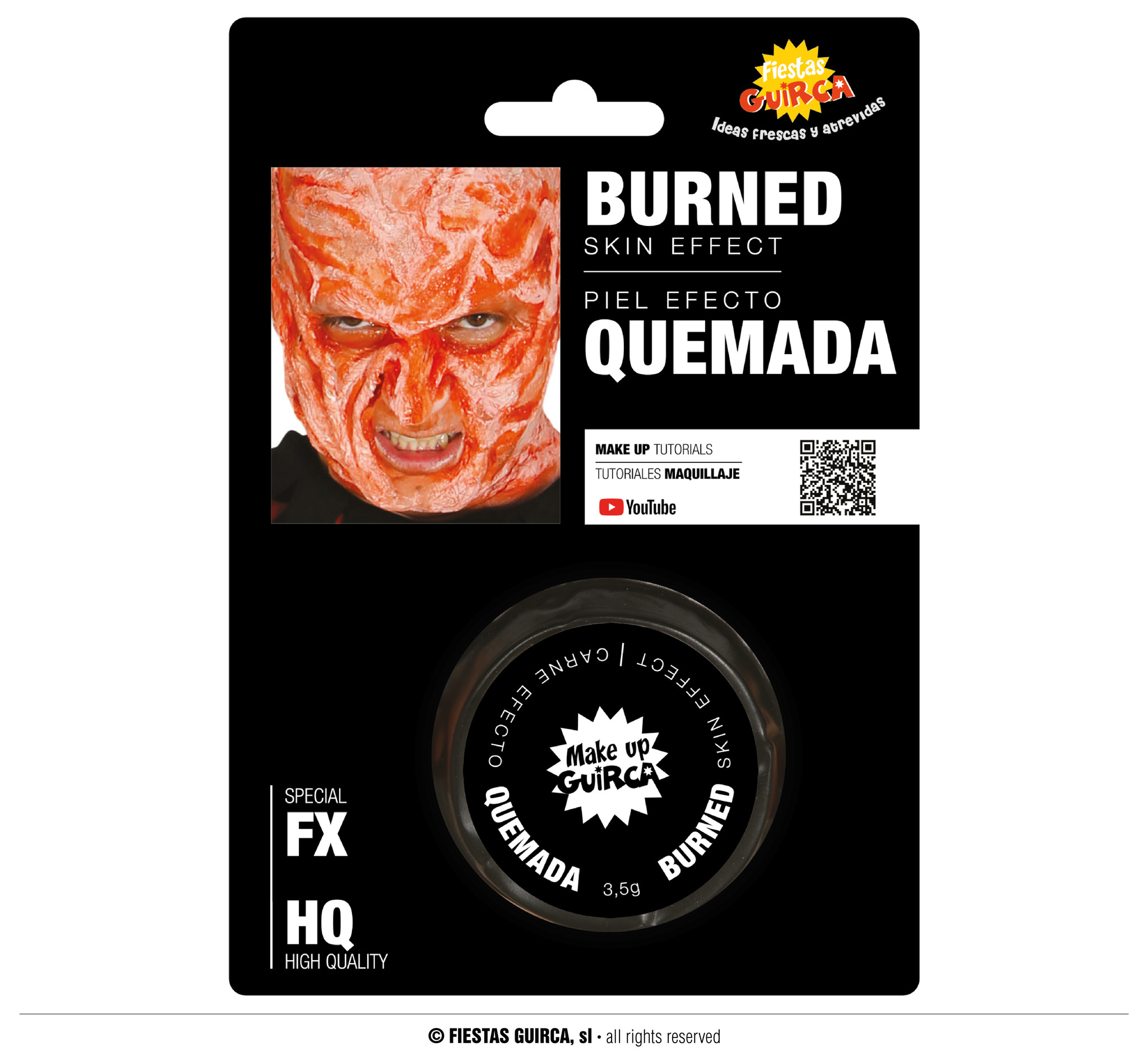 Burn Skin   Brandwonden Make Up