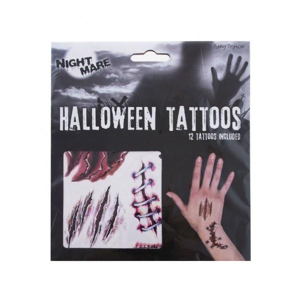 Halloween tattoos |  Horror Neptattoos
