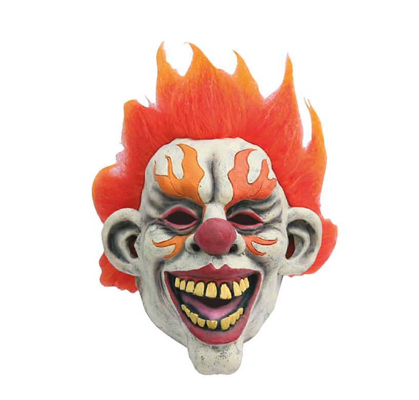 Horrorclown Masker | Fire Clown Halloween