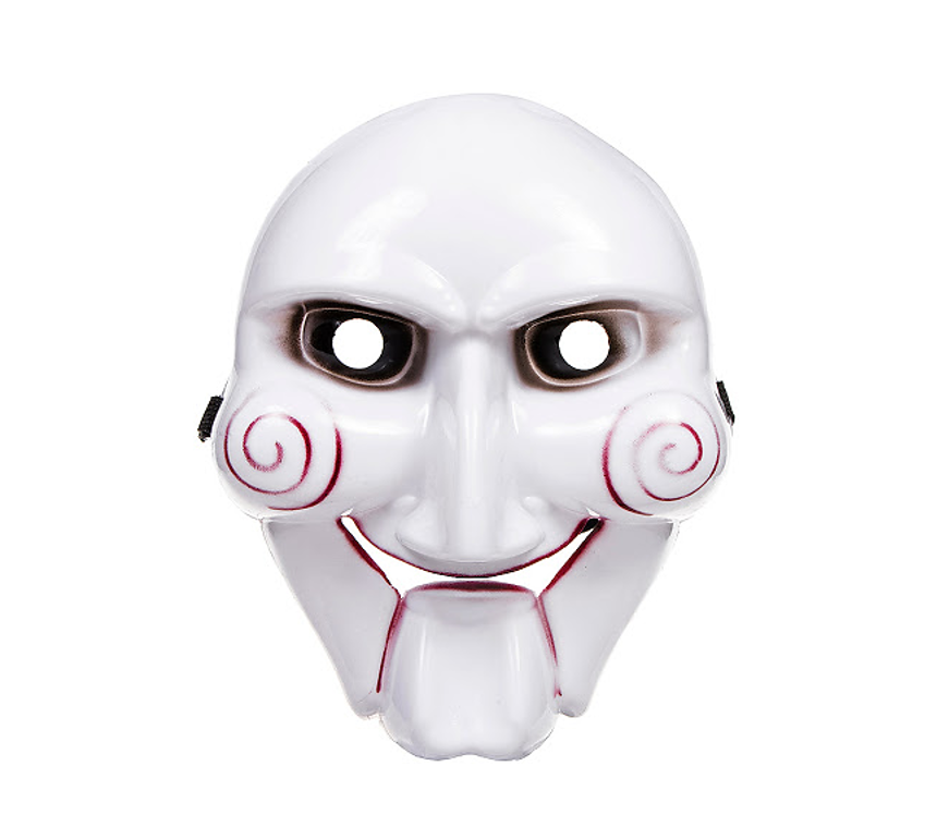 SAW Masker Deluxe   Plastiek Masker Halloween