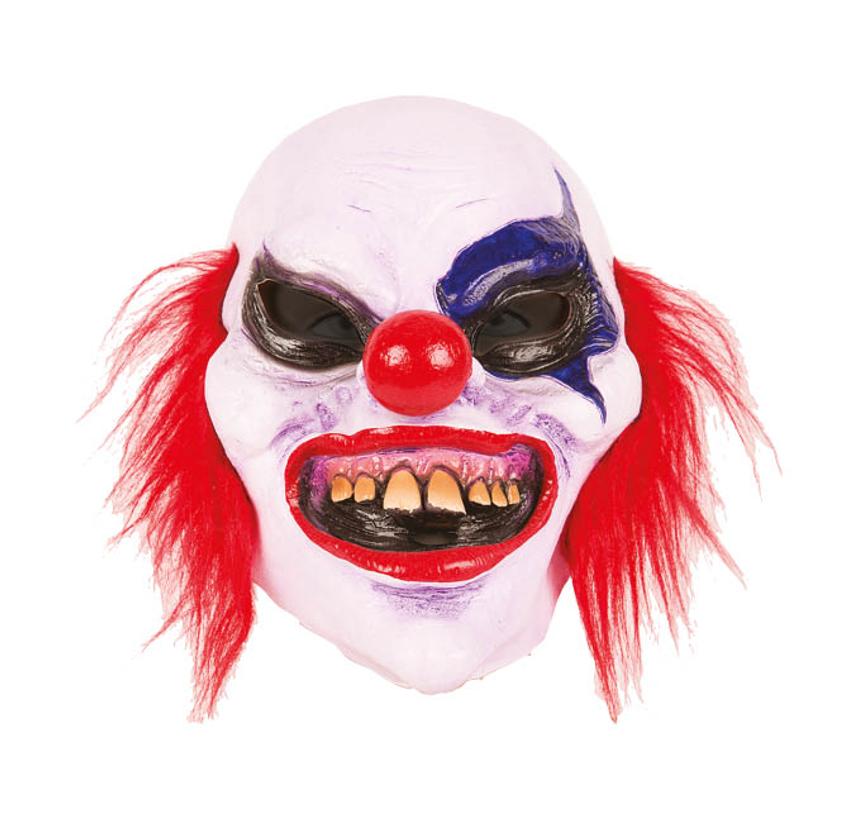 Scary Horrorclown Masker |  Latex Masker