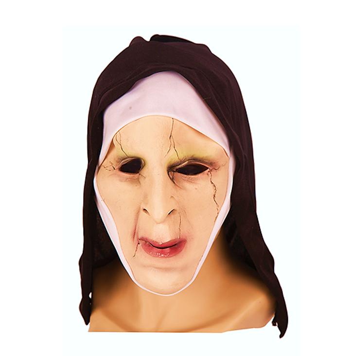 Horror Non Latex Masker | The Nun Masker