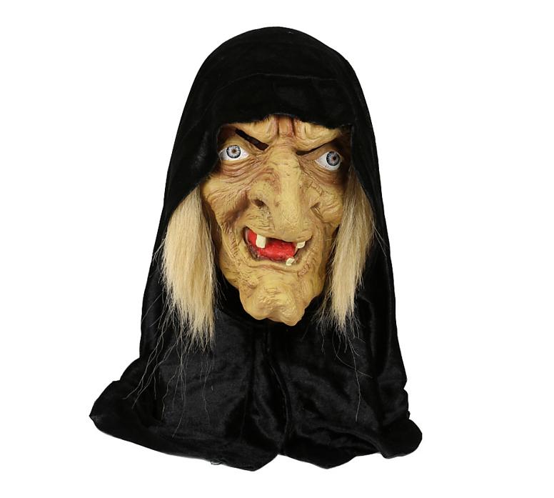 Heksen Masker met Kapje | Halloween Masker