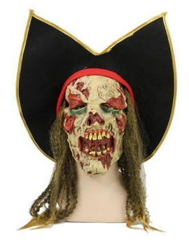 Horror Piraat   Halloween Masker