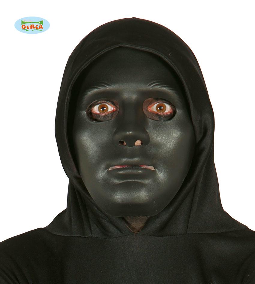 Black Anonymous Mask | Plastiek Masker