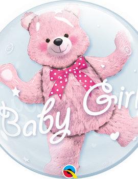 Bubble Double Ballon  | Baby Girl 24inch