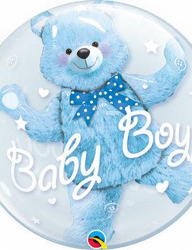 Bubble Double Ballon  | Baby Boy 24inch