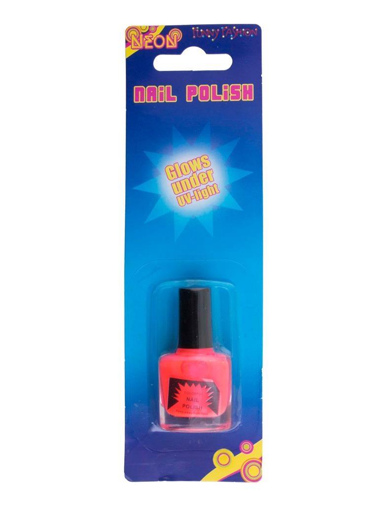 Nagellak Fluo UV 9,85ml   Roze