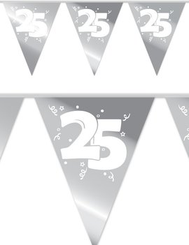 Vlaggenlijn Jubileum 25 | Zilver 10 Meter