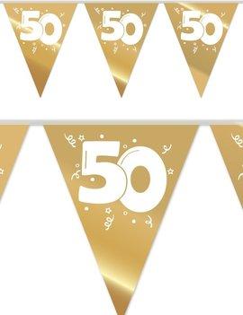 Vlaggenlijn Jubileum 50 | Goud 10 Meter