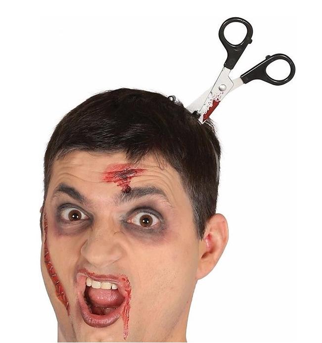 Schaar in Hoofd Diadeem | Halloween diadeem