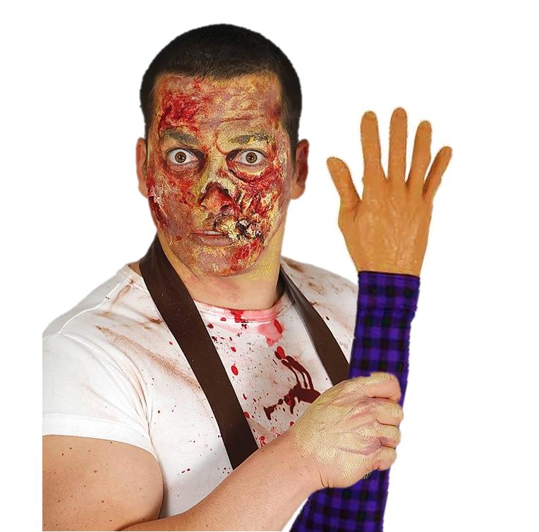 Afgerukte arm | Hand Afgerukt met Mouw