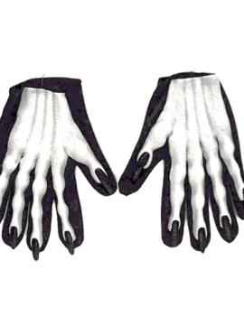 Skelet Handschoenen Met Nagels | Halloween