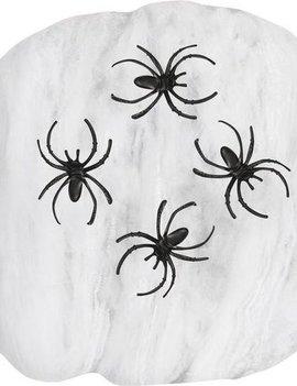 Spinnenweb Met 2 Spinnen | 50 Gram