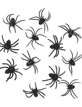 Spinnetjes Voor Spinnenweb | 10 Stuks