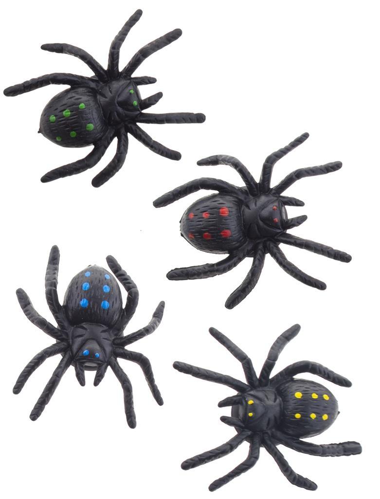 Spinnetjes Met Zuignapjes | 4 Stuks