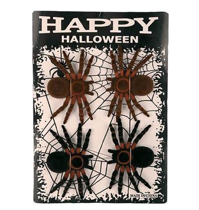 Grote Nep Spinnen | 4 Stuks