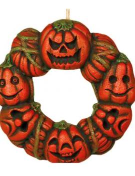 Halloween Pompoenkrans |Pompoendecoratie