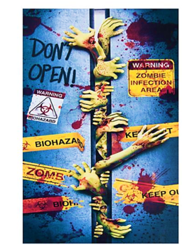 Deur Doek Zombie Infectie | Door Cover Zombie