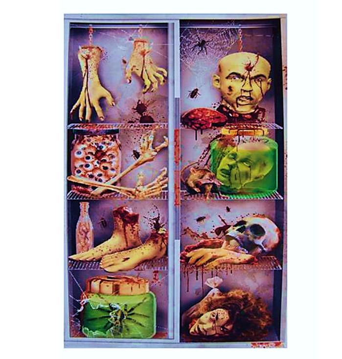 Deur Doek Horror Koelkast | Door Cover Horror
