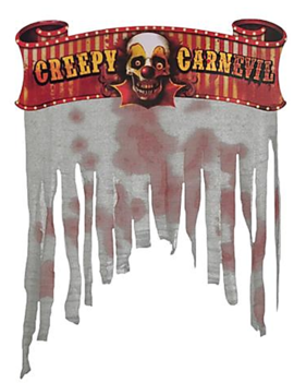 Deur Gordijn | Creepy Carnevil | Circus