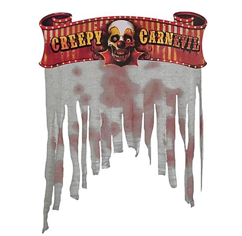 Deur Gordijn | Creepy Carnevil | Circus