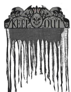 Deur Gordijn | Keep Out | Horror