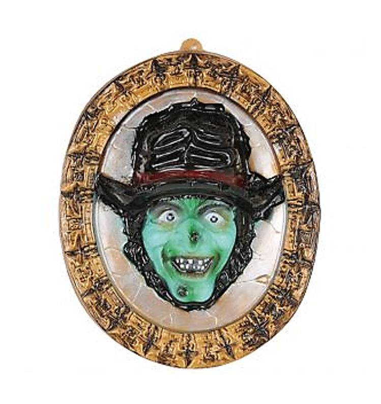 Spiegel Heks   Halloween Wanddecoratie