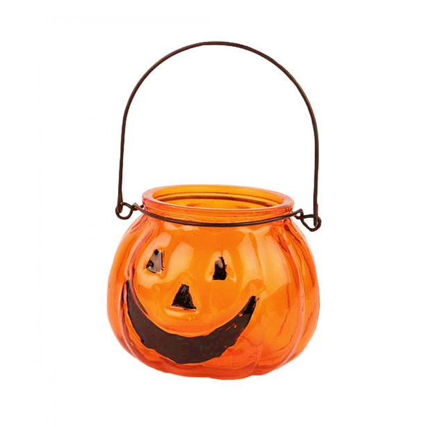 Theelichthouder Pompoen Halloween