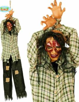 Hangende Zombie 200cm | Halloweendecoratie