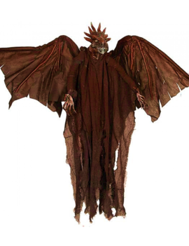 Horror Draak 90cm | Halloweendecoratie