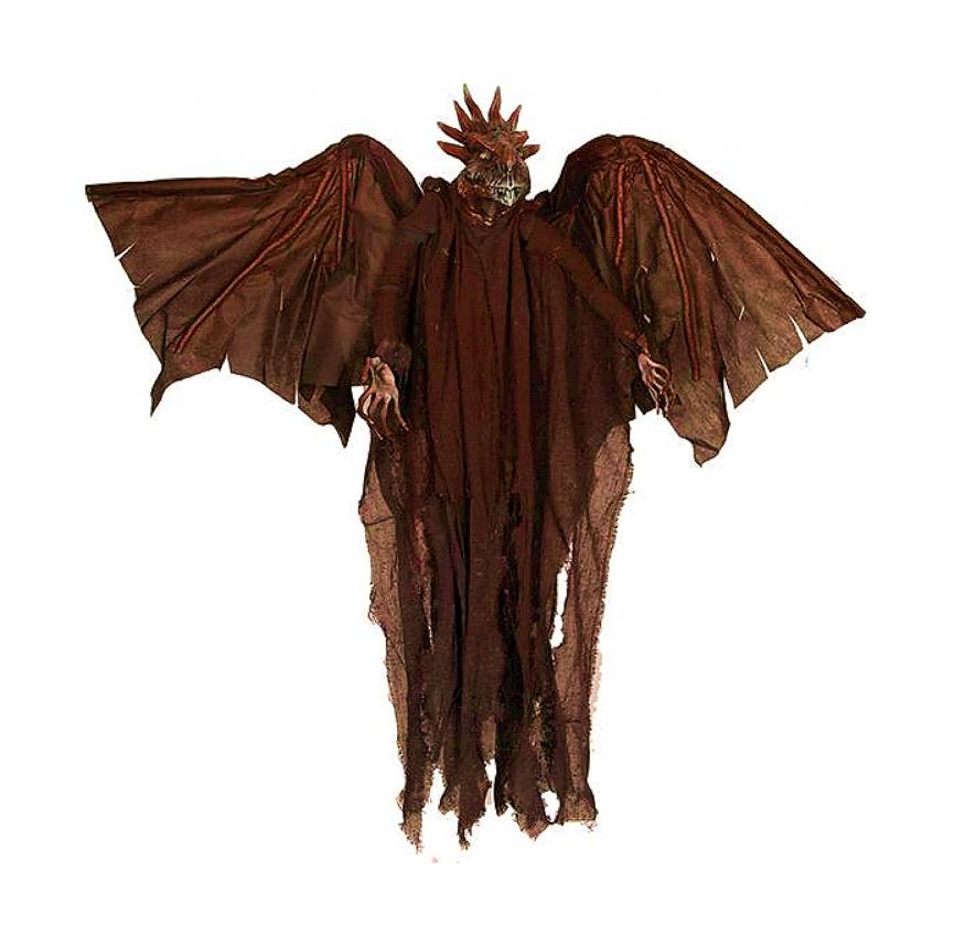 Horror Draak 90cm | Halloweendecoratie