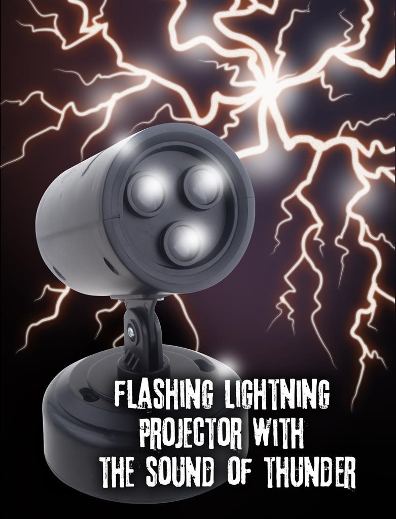 Bliksem Projector | Halloweendecoratie