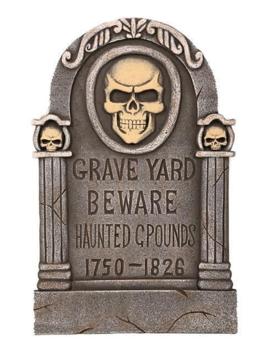 Graf Graveyard| Halloweendecoratie