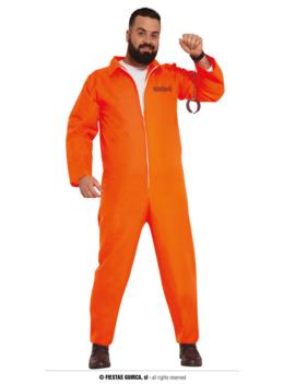 Prisoner gevangenen Kostuum | Oranje