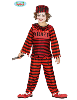 Horrorclown Kinderkostuum |  Prisoner Clown