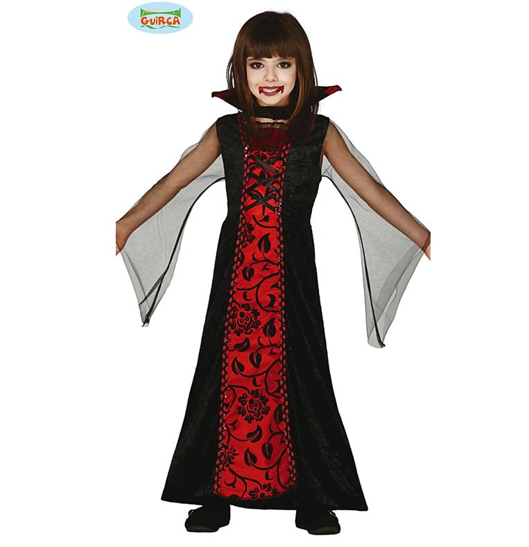 Vampier Meisje Kinderkostuum    Vampirina Dress