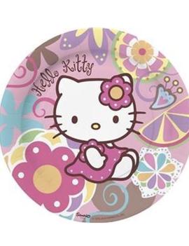 Hello Kitty Bordjes 10 Stuks