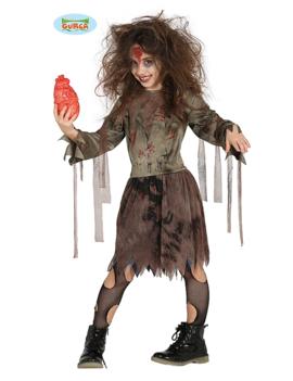 Zombie meisje Kinderkostuum |  Zombie Girl