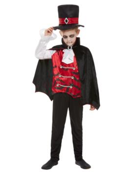 Dracula Jongen Kinderkostuum | Halloweenkostuum