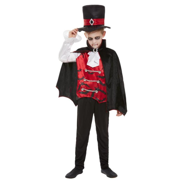 Dracula Jongen Kinderkostuum   Halloweenkostuum