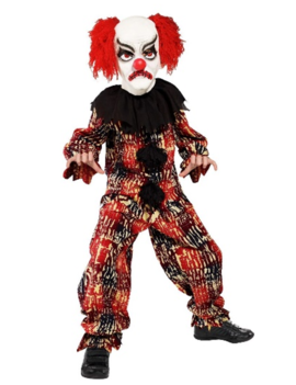 Horrorclown Kinderkostuum | + Masker