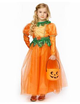 Pompoenheks Kinderkostuum | Halloween
