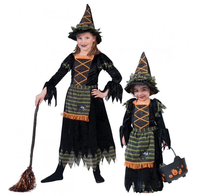 Heks Lya Kinderkostuum   Halloween