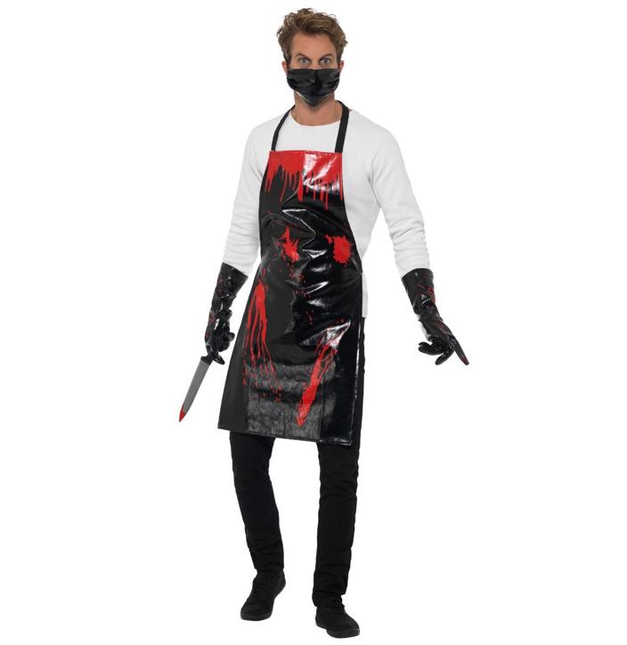 Bloody Surgeon/ Butcher Kostuum | Halloween